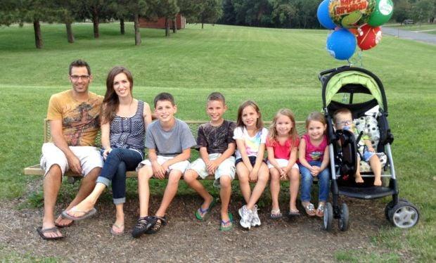 Judah Dearey and family