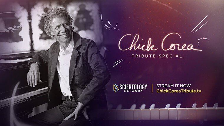 Chick Corea Tribute Special on Scientology Network