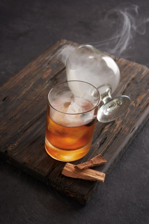 Special Request Smoked Old Fashioned from Bonefish Grill for pub November 11, 2020