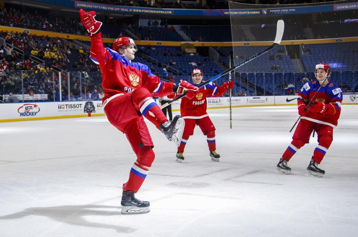 St Louis Blues Close APTOPIX World Juniors Sweden Russia Hockey