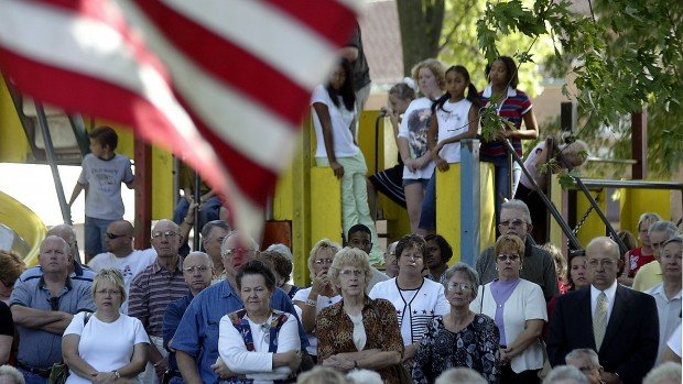 On his birthday, town honors fallen Marine