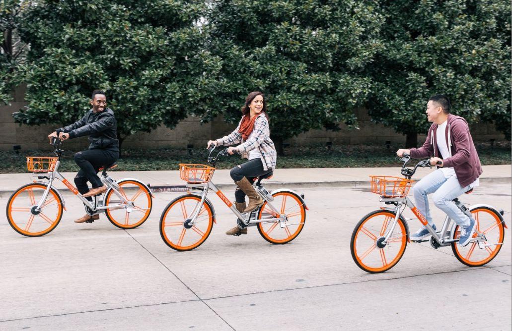 Mobike bike share in Charlotte