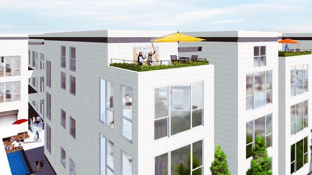 Solire Apartment rendering
