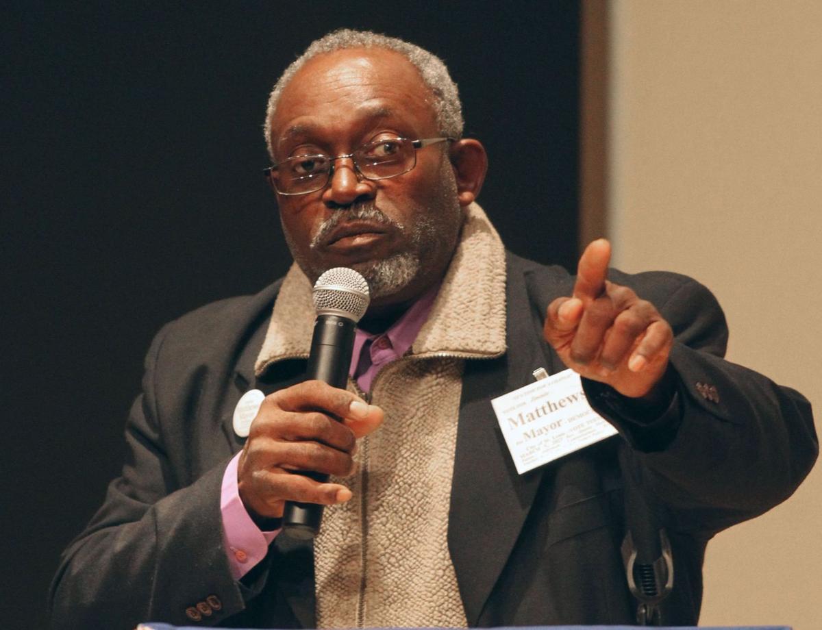 Debate between St. Louis Mayor Francis Slay and challengers Jimmie Matthews and Lewis Reed