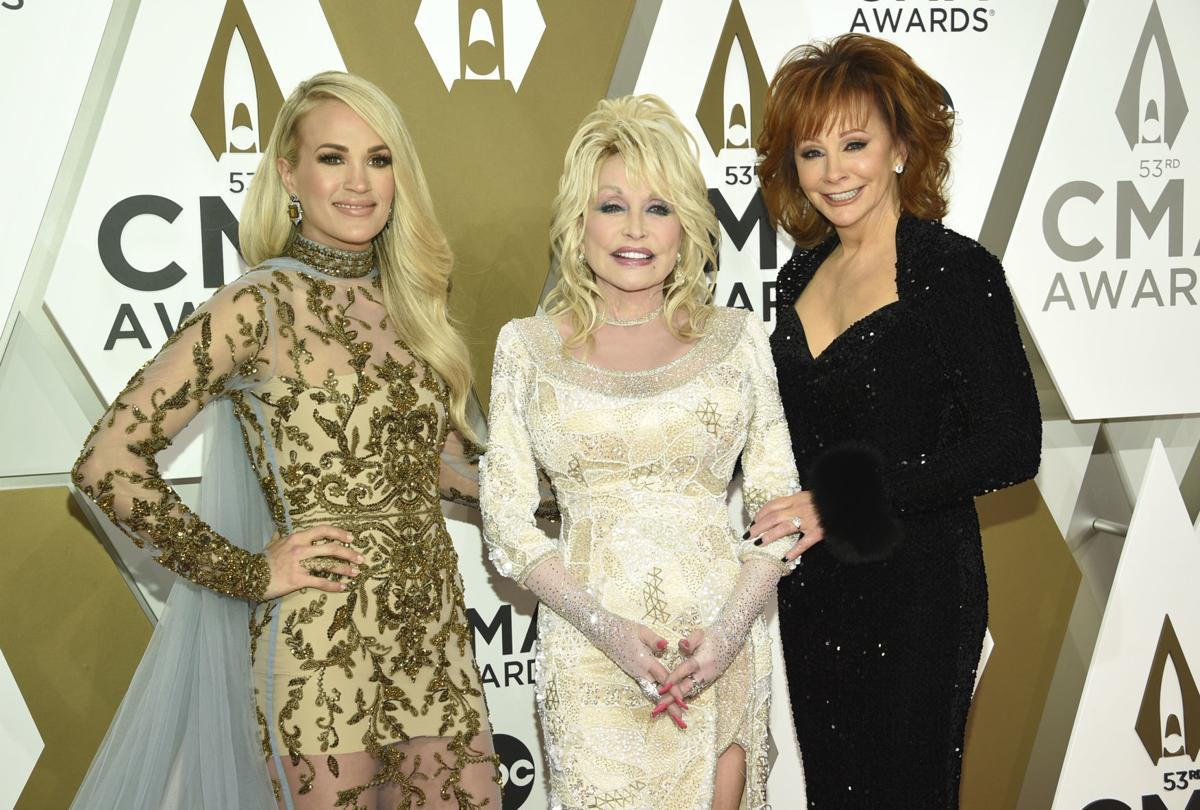 Dolly, Reba, Carrie and more: See the photos from the Red Carpet at the CMA Awards
