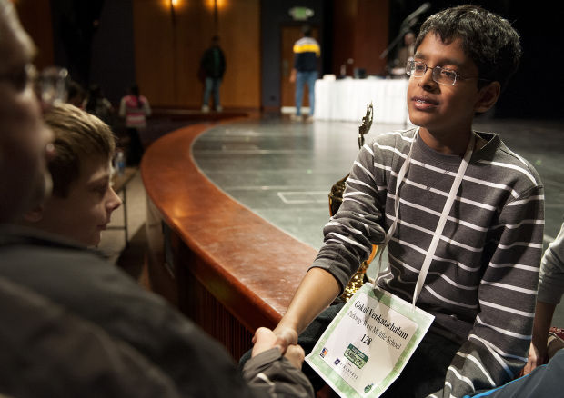 Venkatachalam wins third spelling bee