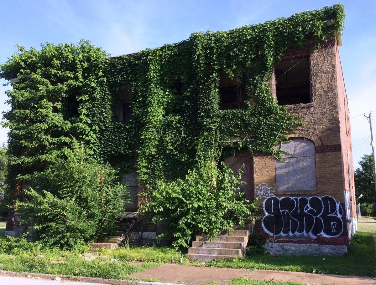 Vacant property in St. Louis