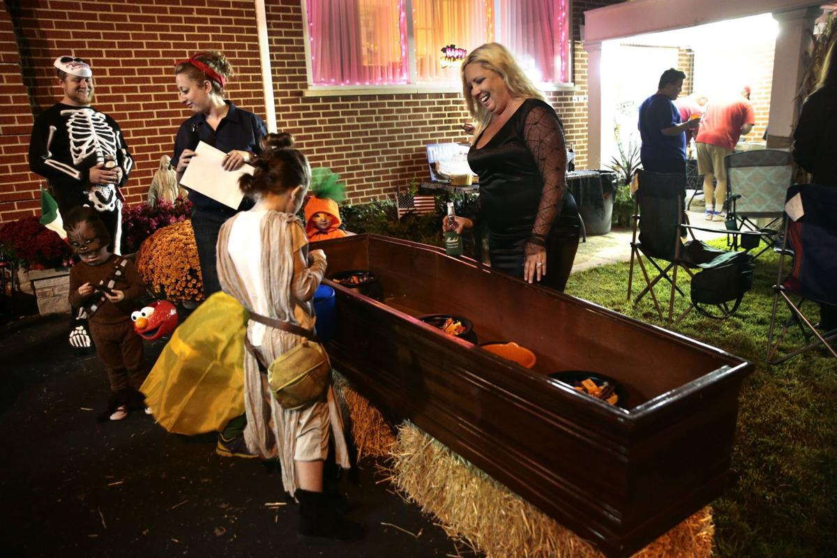 Funeral home holds first Trunk or Treat