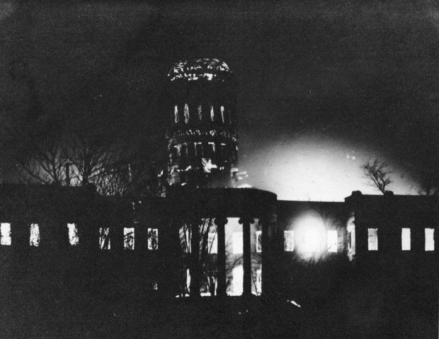 Missouri Capitol fire