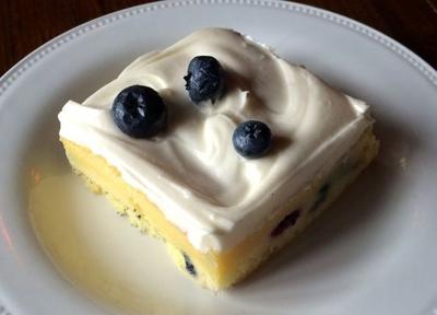 Susie's Lemon Blueberry Cake