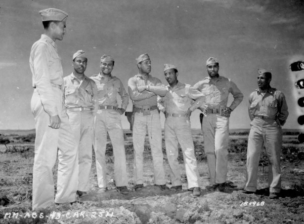 99th Fighter Squadron officers, 1943