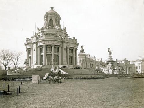 East Restaurant Pavilion, 1904 World's Fair
