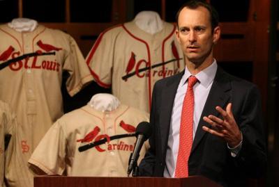 Cardinals unveil new jersey for next season