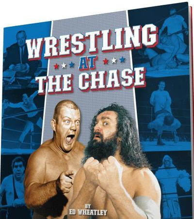 """Cover to new book """"Wrestling at the Chase"""""""