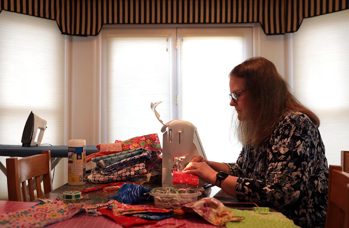 One woman's quest to sew masks