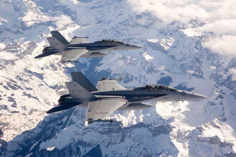 F/A-18E/F Super Hornets