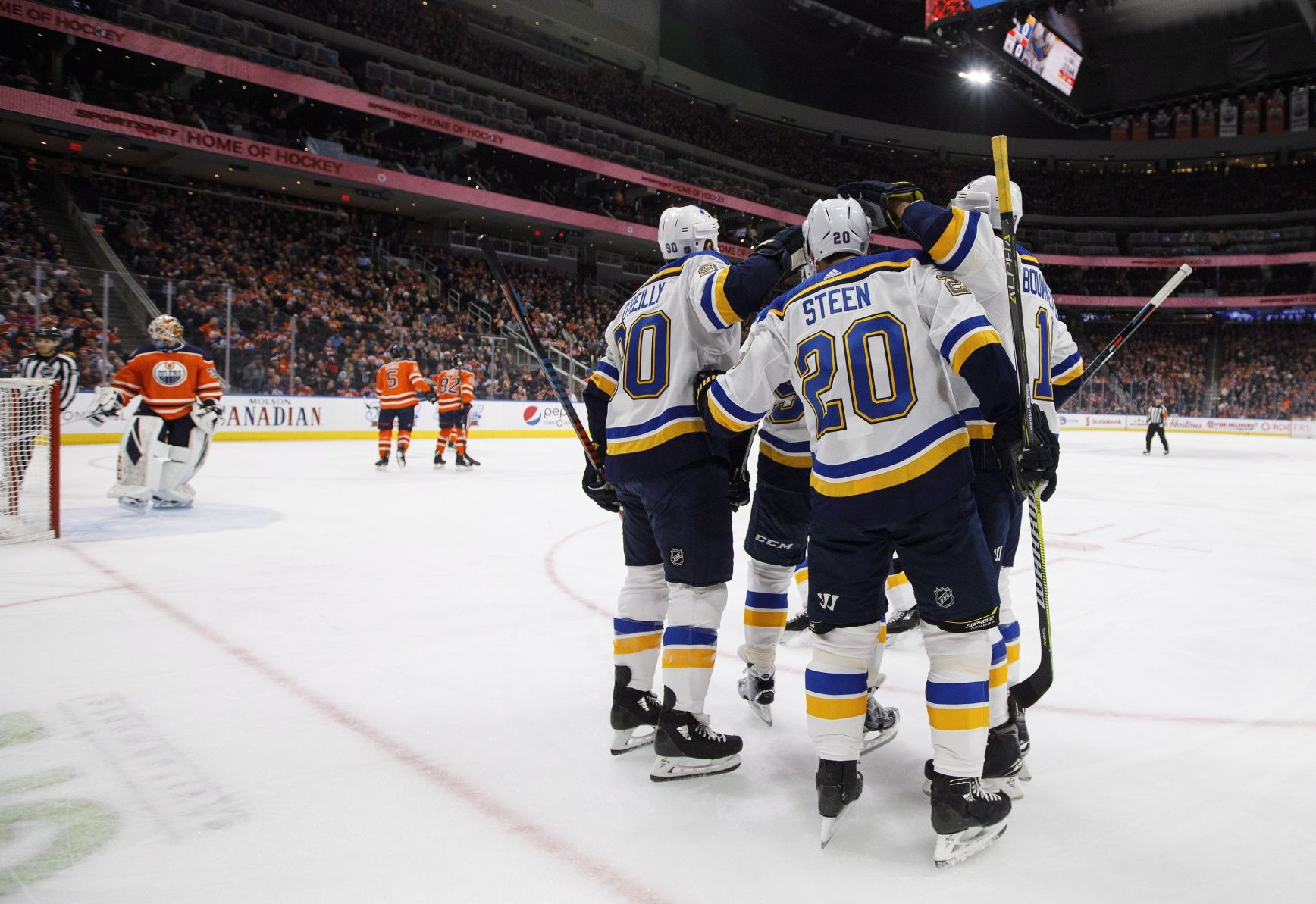 Predictably Unpredictable Blues Regroup For Surprising Win