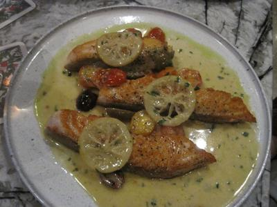SR Tuscan Salmon from the Train Shed at Union Station for publication March 3, 2020