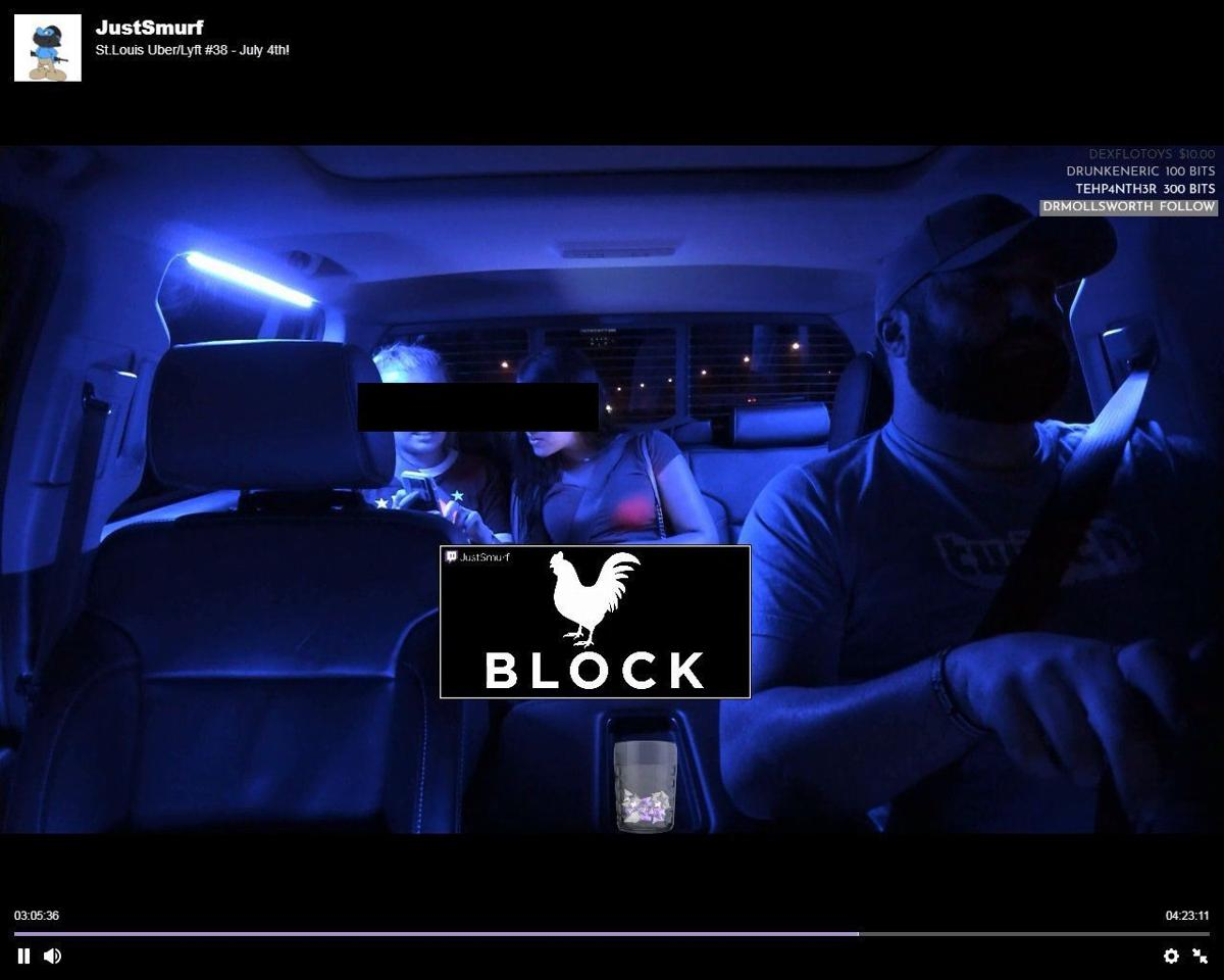 St  Louis Uber driver put video of hundreds of passengers online