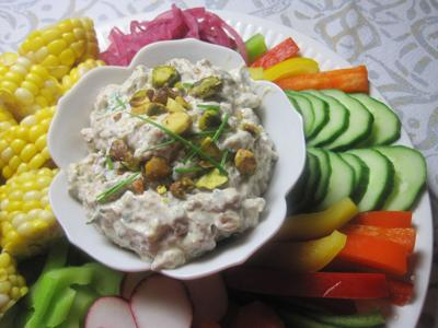 Special Request Gwin's Tiny Kitchen Pistachio Dip for publication May 12, 2021