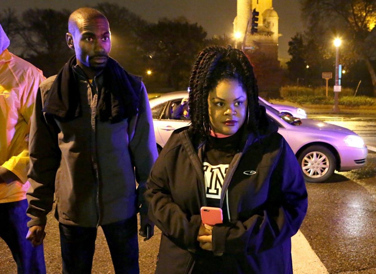 Protesters march for VonDerrit Myers Jr. in Shaw neighborhood and south St. Louis