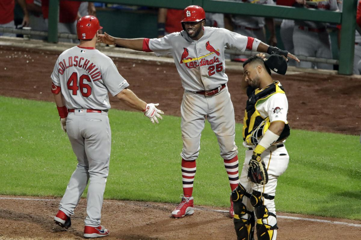 Goldschmidt's grand slam proves just enough as Cardinals survive for 6-5 victory vs. Pirates