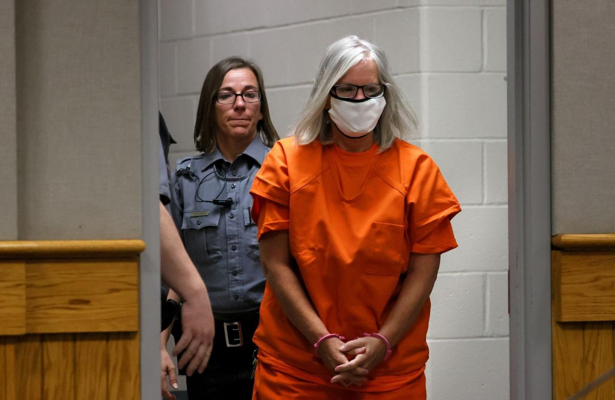 Pam Hupp at first Lincoln Co. murder hearing charge