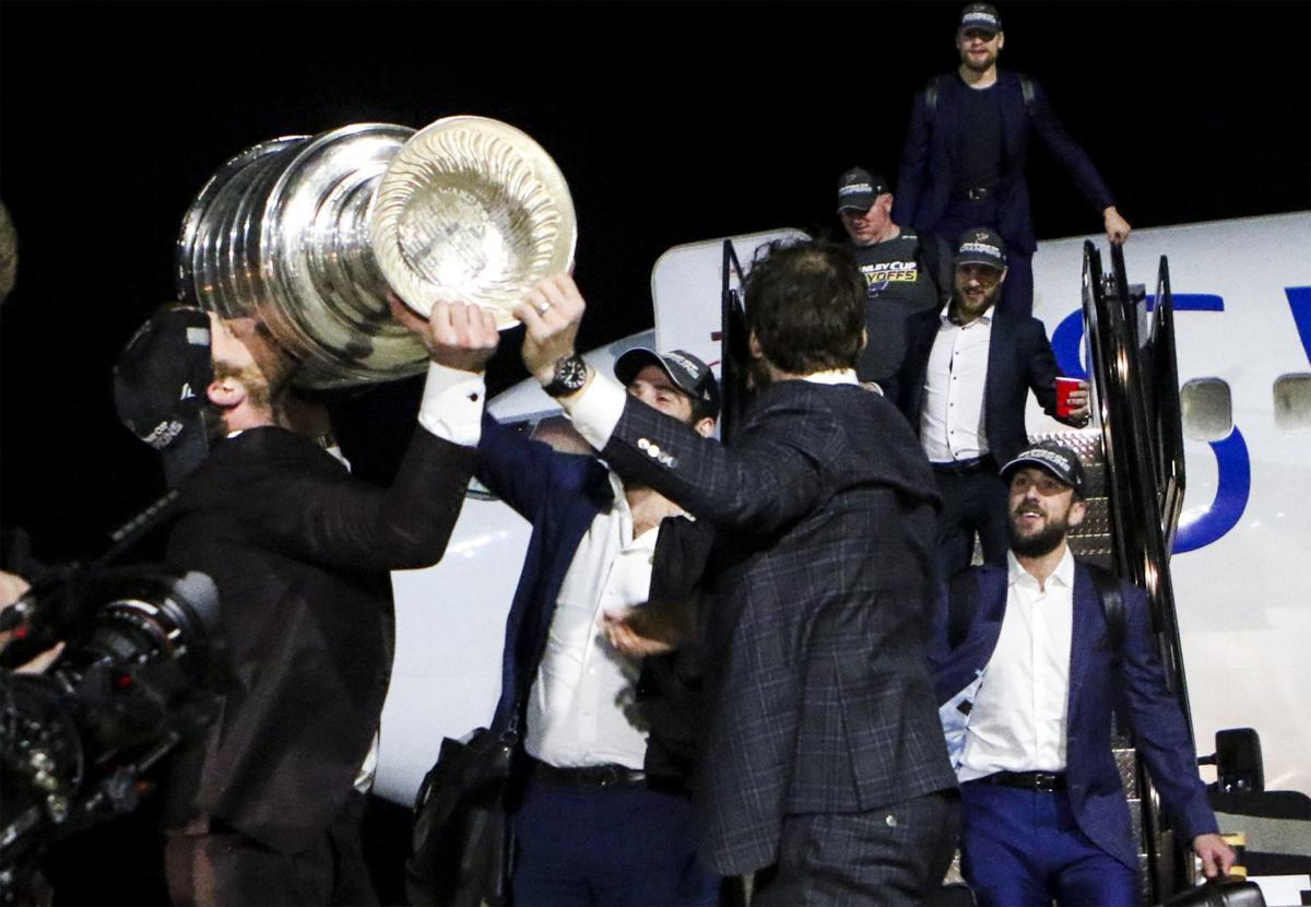 Photos: The Stanley Cup comes home to St. Louis