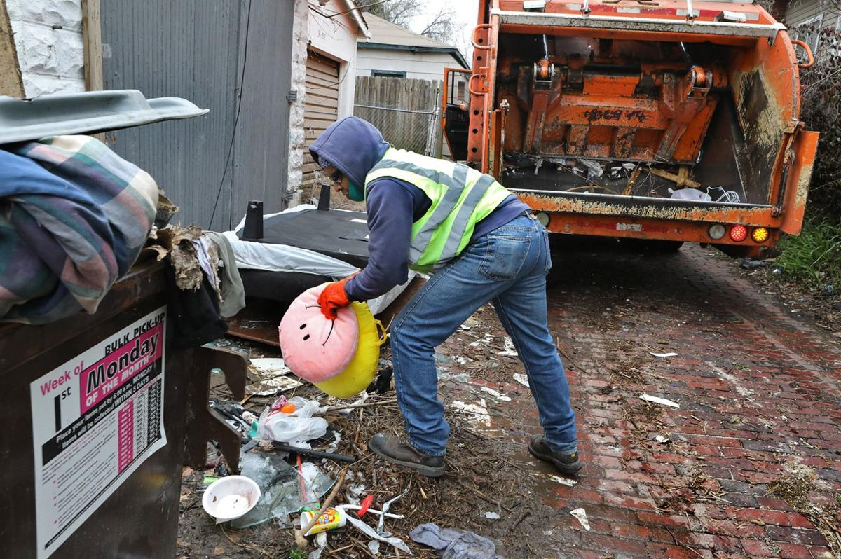 City works harder at cleaning up trash