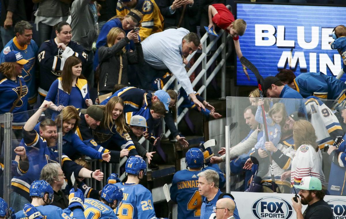 St. Louis Blues end it against the Canucks