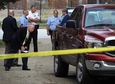 Two bodies found in bed of pick up truck