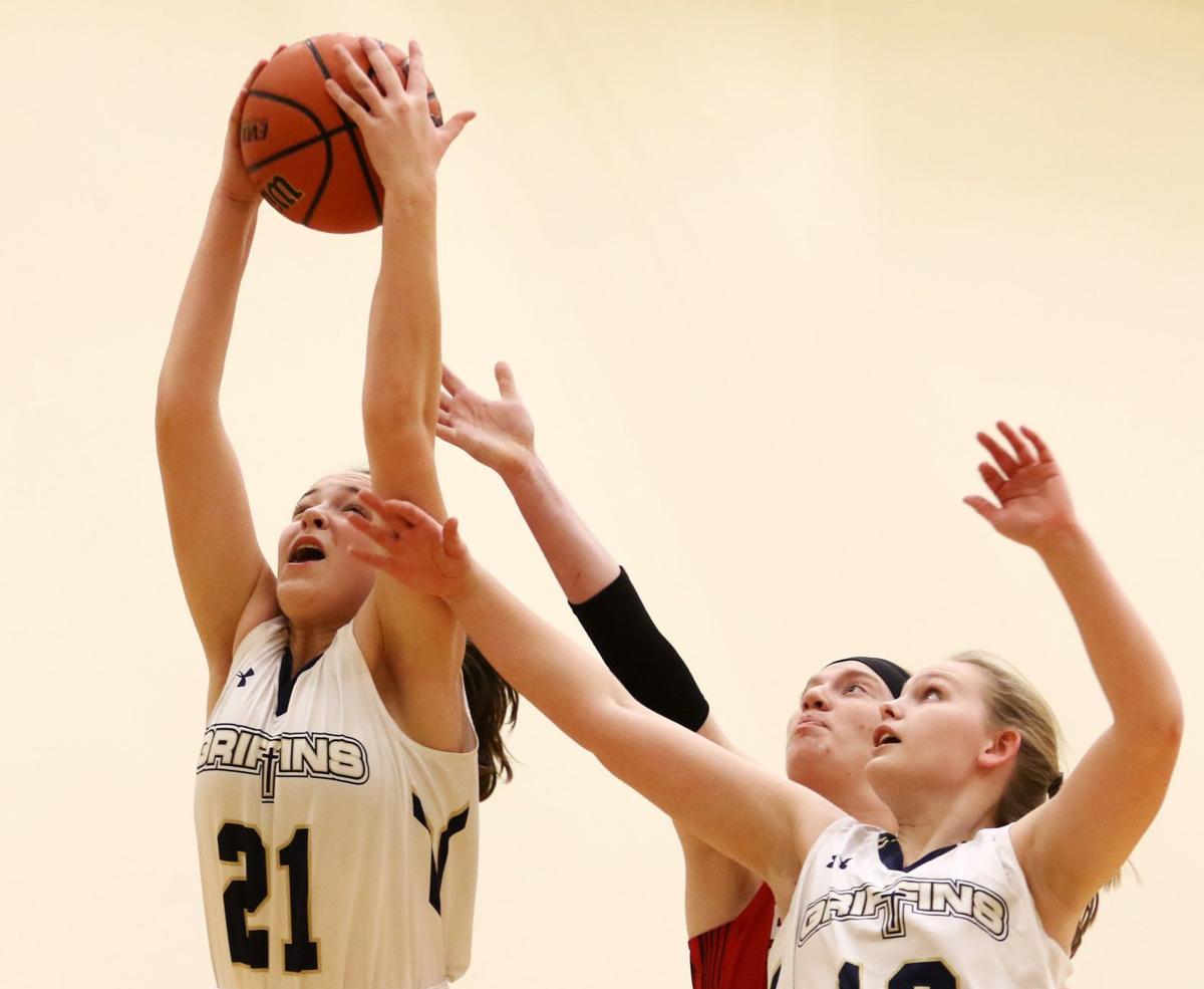 Father McGivney vs. Staunton girls basketball