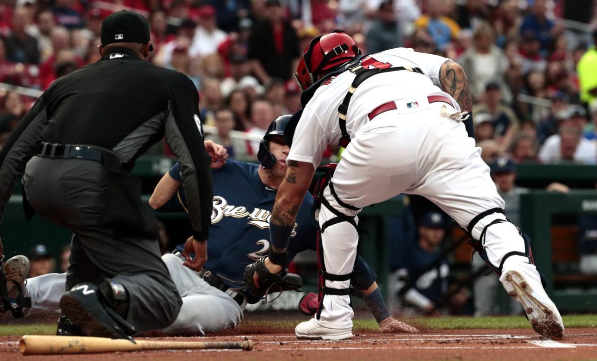 Cardinals vs. Brewers at Busch