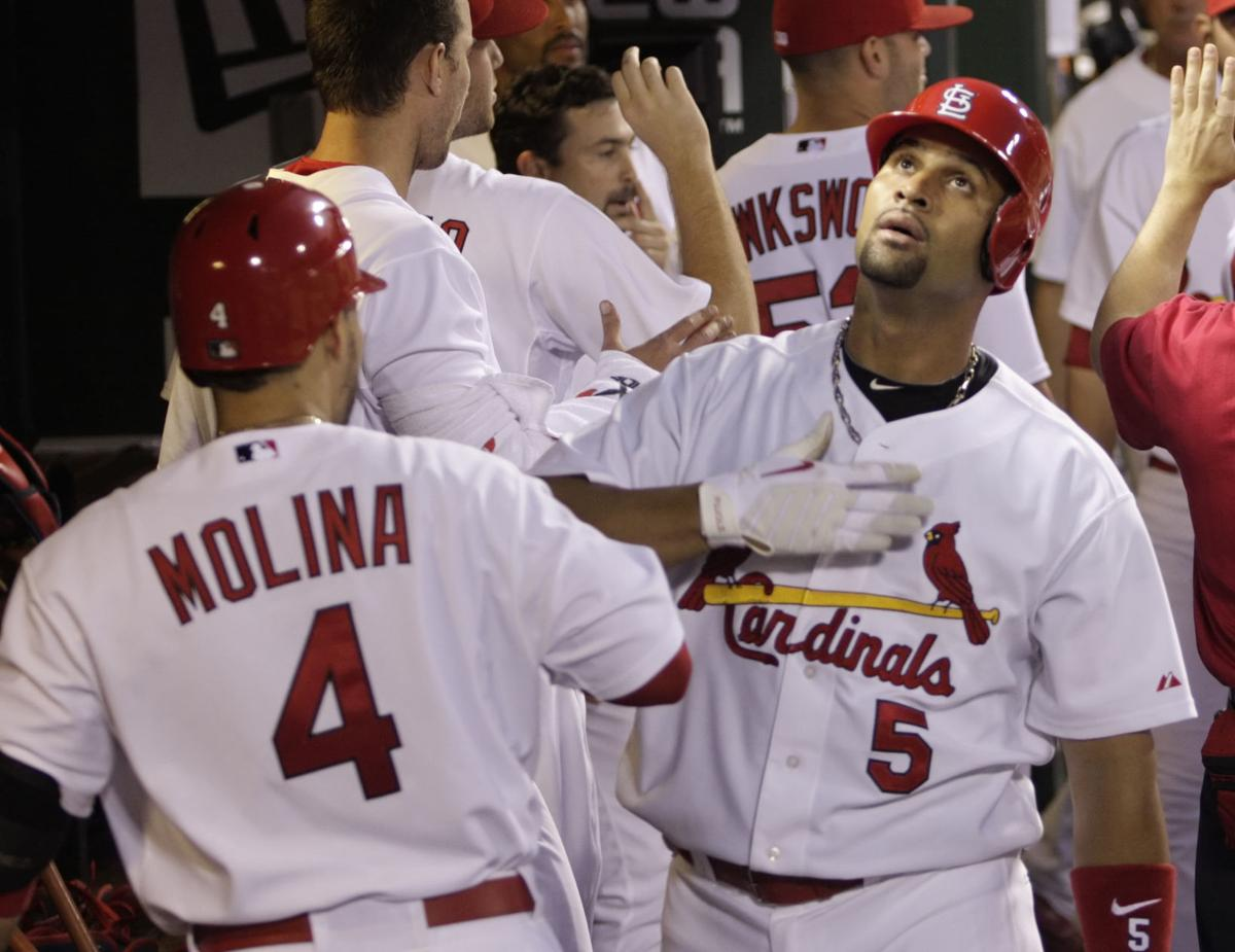 pretty nice 0cd28 71e9e BenFred: Pujols' departure did more to cement his Cardinals ...