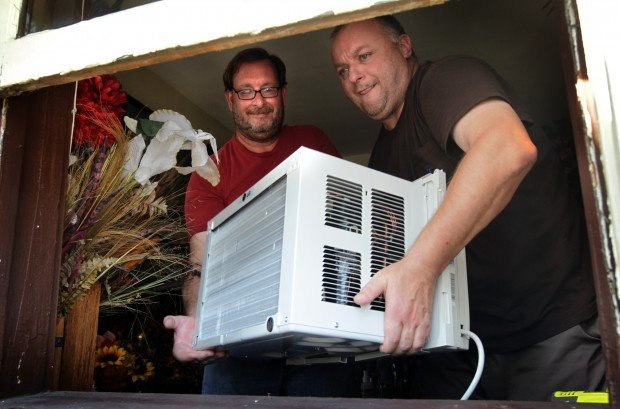 Air conditioners for the needy