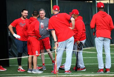 First official workout of Cardinals spring training