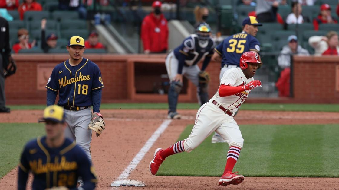 With paucity of strikeouts, Brewers and Cardinals provide lots of (rare) action