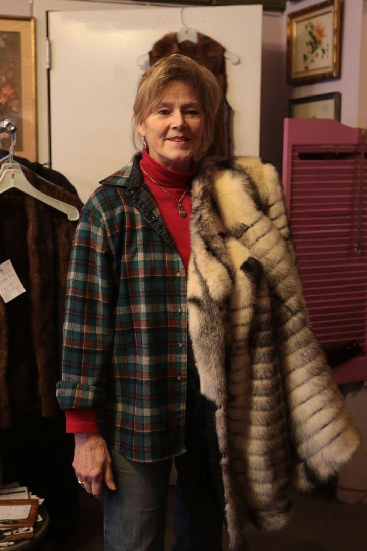 Furrier along Cherokee Row creates new styles from older fur coats