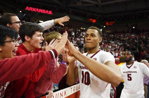 Arlando Cook Arkansas Razorbacks Basketball Jersey - Red