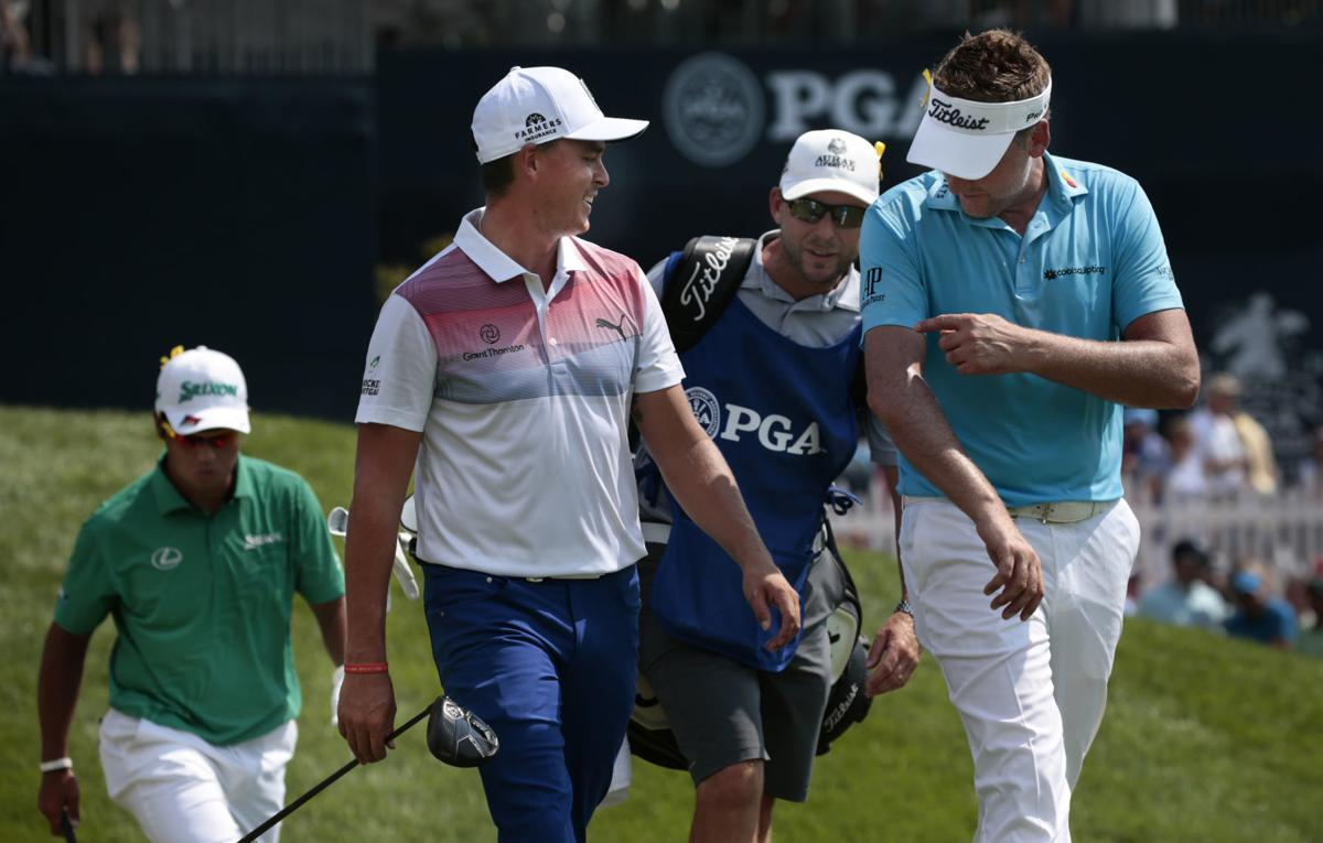 e822b06db4 PGA notebook: 'Amazing' shot for St. Louisan Block, who has the honor of  hitting first at Bellerive | Golf | stltoday.com