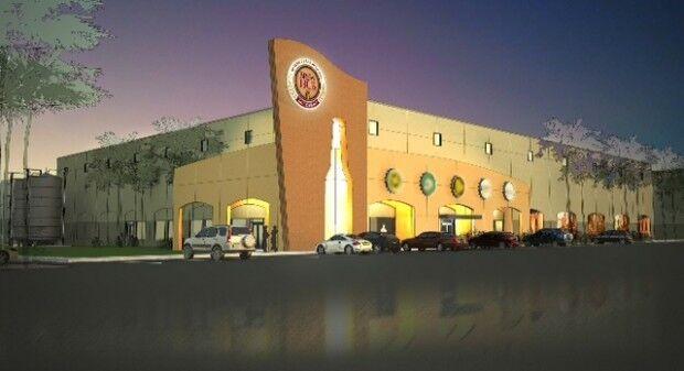 Brew Hub brewery rendering