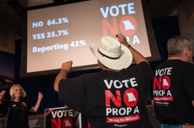 Vote No on Prop A post-election party