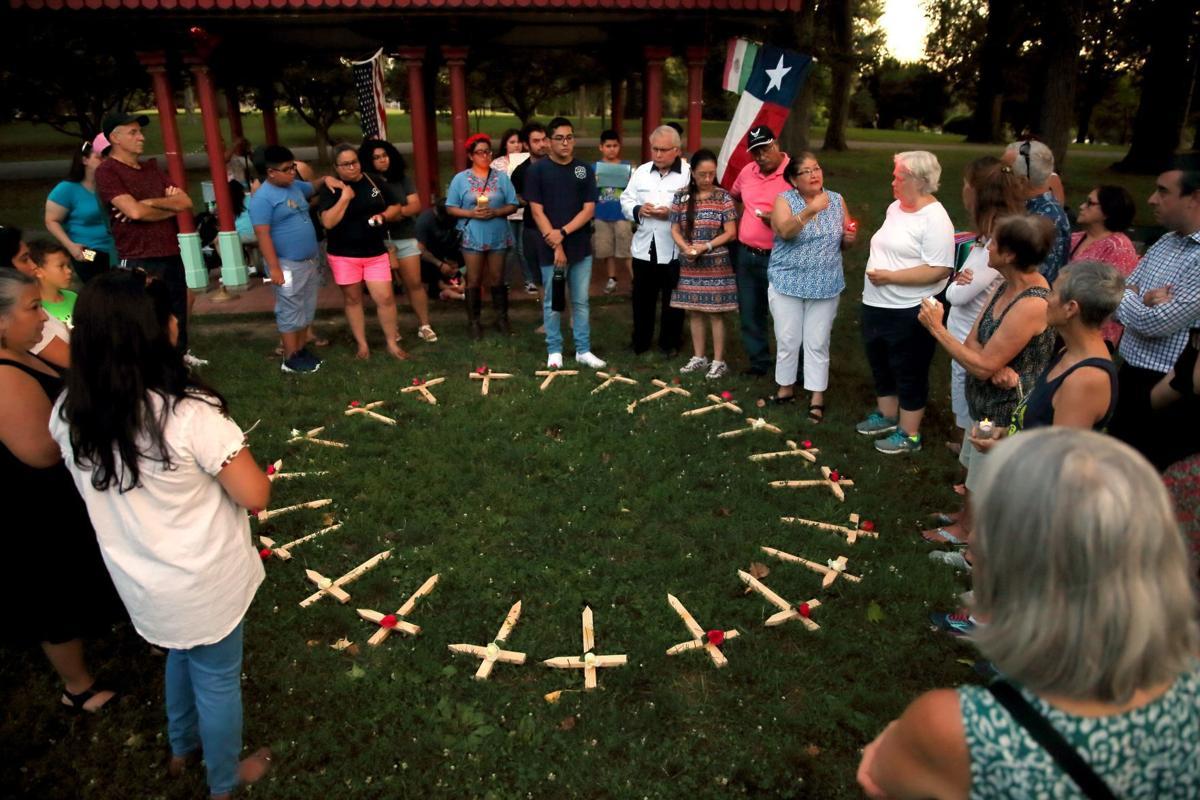 St. Louis vigil for El Paso shooting victims