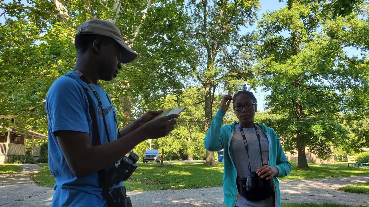Teens learn about conservation and career development through Audubon's Flight Crew