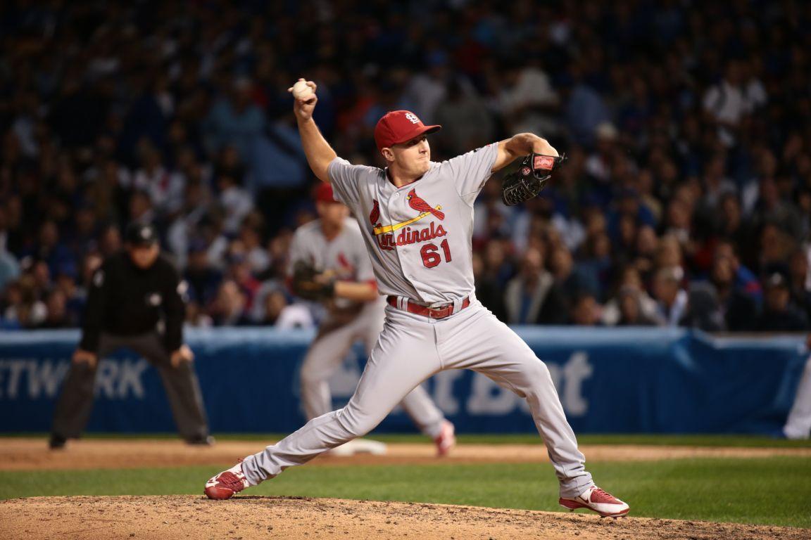 Cardinals v Cubs, NLDS Game 3
