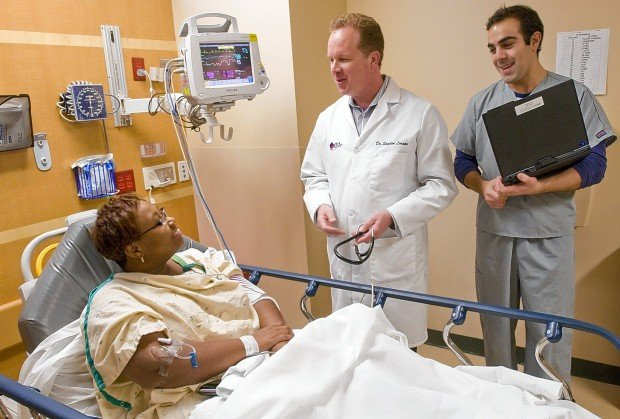 Hospital Prescribes Helping Hands For Emergency Room