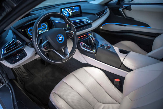 2014 Bmw I8 The Future Is Now And It Has Swan Wing Doors