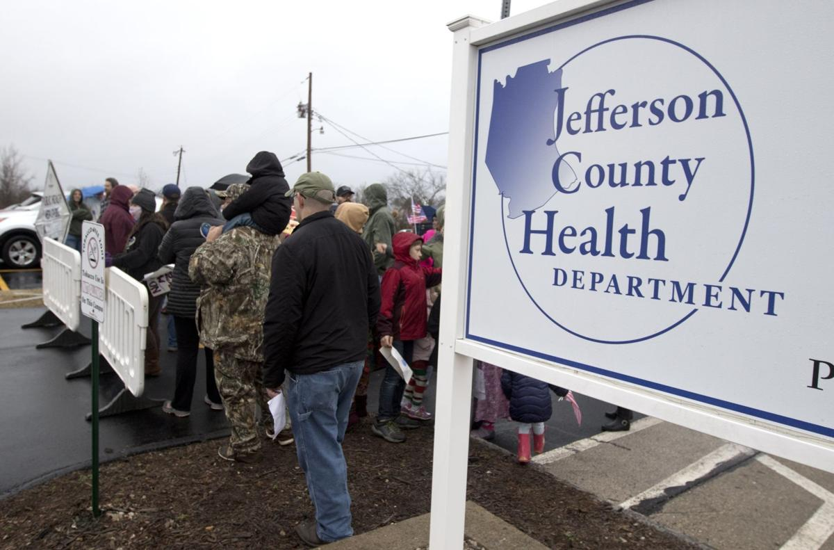Mask mandate at the Jefferson County Health Department