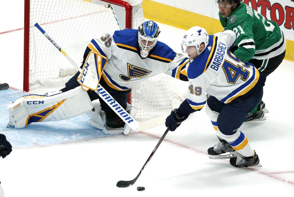Blues have pep in their step in preseason opener