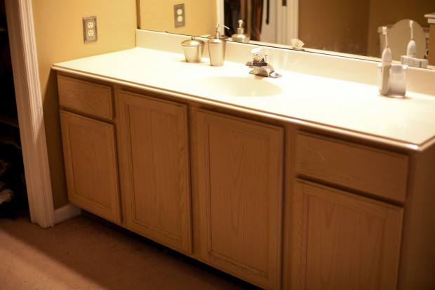 Update Your Bathroom Vanity For Less Than 200